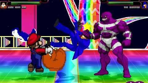 MUGEN Battle 112 - Mario Duck Hunt Dog vs