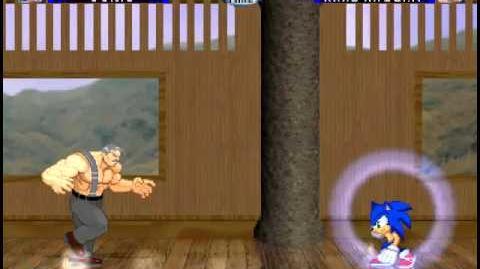 Nintendo Vs Capcom Arcade Runs Sonic-0