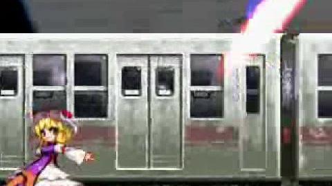 Homer Simpson Takes a Ride on the Yukari Express