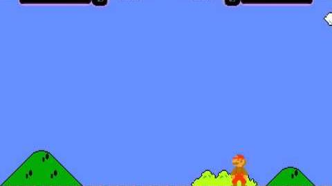 Mugen Battle NES Super Mario vs NES Megaman mit Rematch