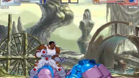 Intense Mugen Battle- Cyborg vs