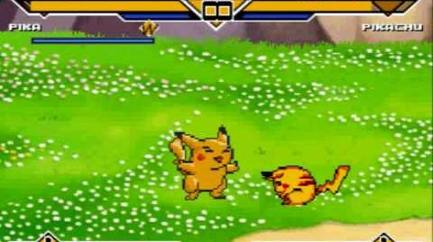 MUGEN - Pikachu (by MUGENX) VS