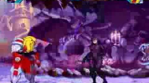 MUGEN Catwoman (me) VS Omega Red