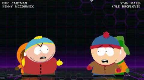 M.U.G.E.N - Cartman and Kenny Vs. Stan and Kyle
