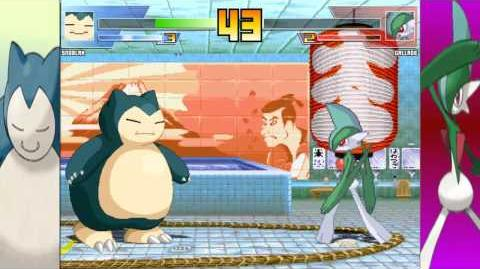 MUGEN Snorlax vs Gallade(Claymizer)