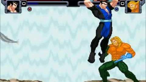 Mighty Mugen Fights Namor Vs Aquaman