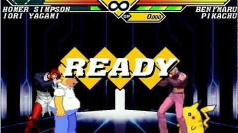 Mr T Mugen Survivor Series Homer & Iori vs Everyone 1 Part 1 2