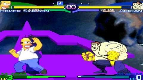 MUGEN 2014 Homer Simpson vs