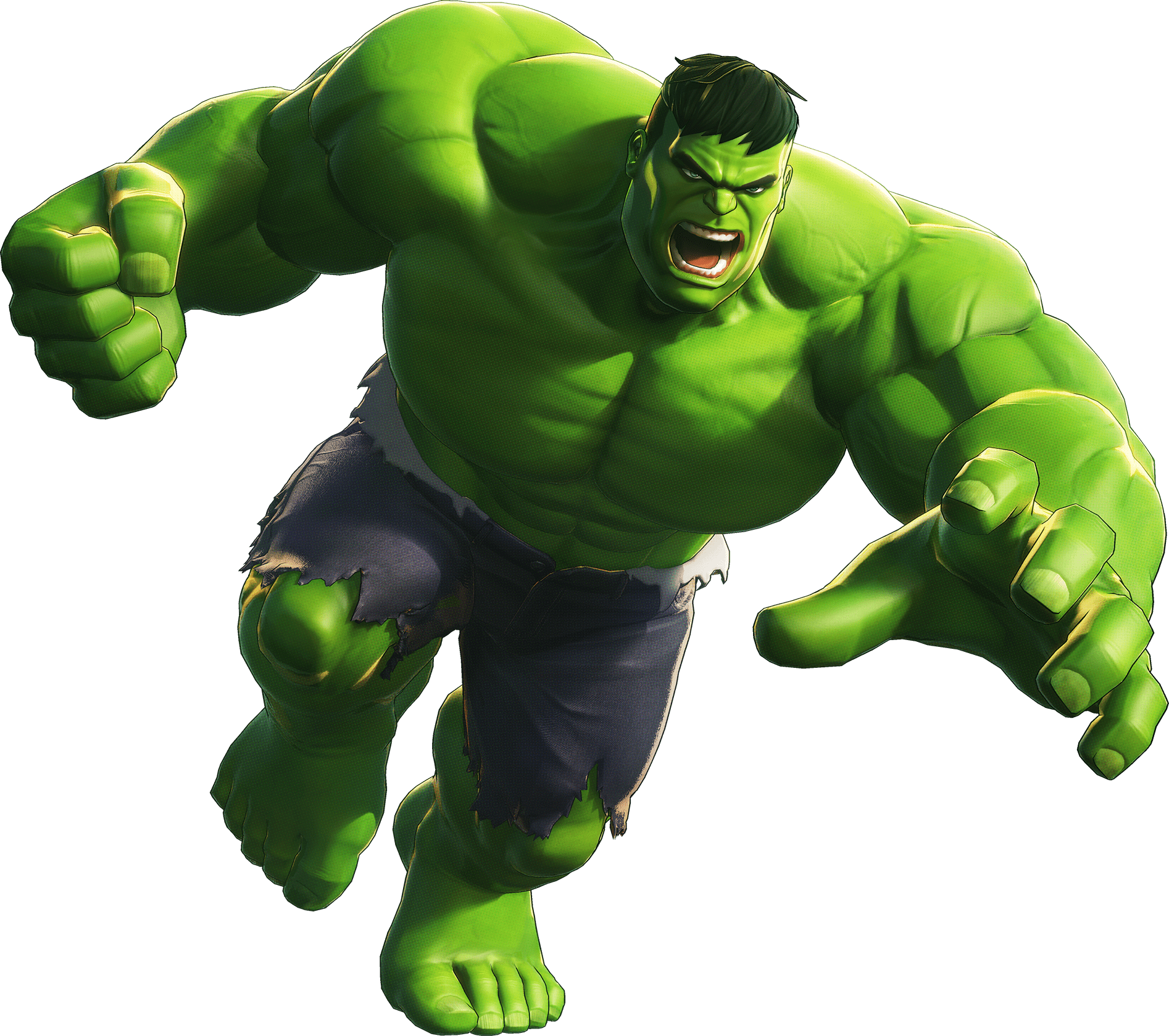 It is an image of Decisive Images of the Hulk