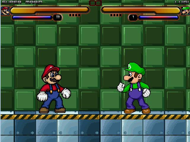 Mario vs. Luigi