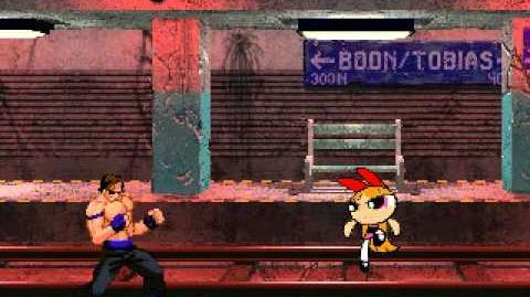 Mugen Battle Blossem vs Johnny Cage