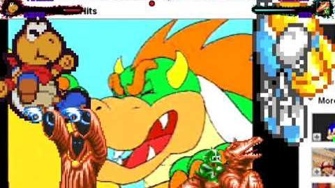 Mugen Request TwinBee and Kooper vs Phantom and Dino