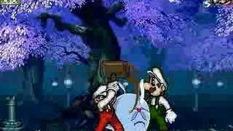 Mugen- Big Boo Fight Against the Mario Bros.