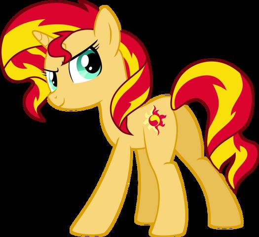 File:Sunset Shimmer pony.png