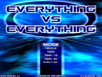 Everything vs Everything | MUGEN Database | FANDOM powered