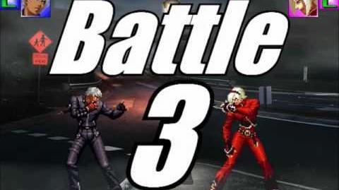 KOF MUGEN K' (KaKu&Gogo) VS Ash Crimson (Helios)