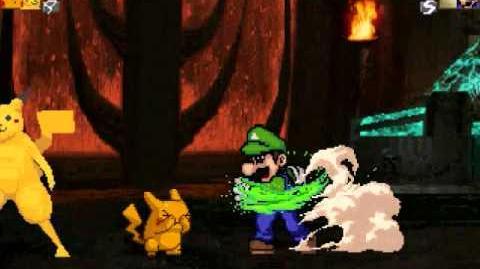 MUGEN Pikachu & Pikaman Vs