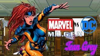 DC vs Marvel Mugen - Mental Breakdown (Jean Grey by 087-B's Arcade Run)