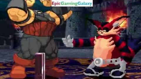 The Juggernaut VS Big The Cat In A Maximum Power MUGEN Edition Match Battle Fight