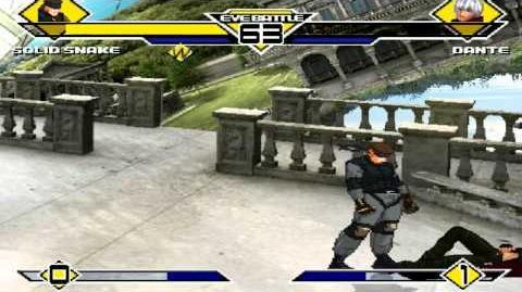 MUGEN-Solid Snake vs Dante
