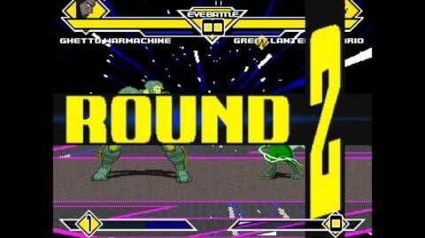 MUGEN Ghetto Warmachine VS Green Lantern Lucario