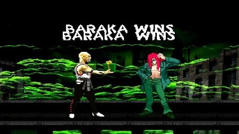 BTW MUGEN Arcade Runs - Baraka playthrough