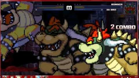 Mugen Bowser Battle 1