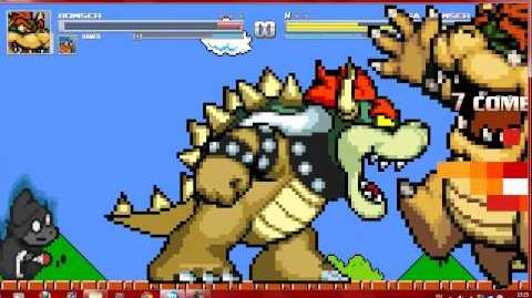 Mugen Bowser and Kamek vs Hyper Neo Kamek and Bowser