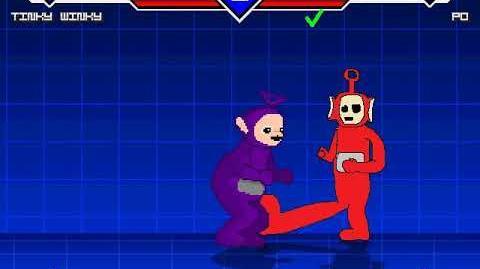 MUGEN battles Tinky Winky vs Po