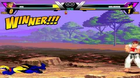 MUGEN 2014 Ryu vs