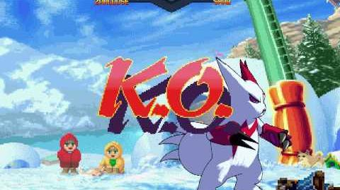 Pokémon Shaq and White (Zangoose major update)