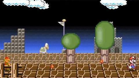 B Mugen Nes Mario vs Bootleg Russian Mario