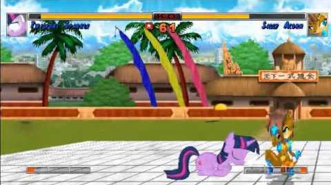 MUGEN Twilight Sparkle Vs Sally Acorn