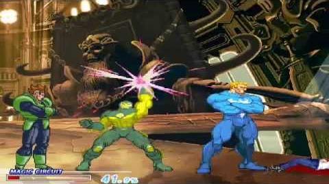 BLRD2 Mugen Aoko Aozaki vs. Venom Android 16 War Machine (1-on-3 AI Battle)