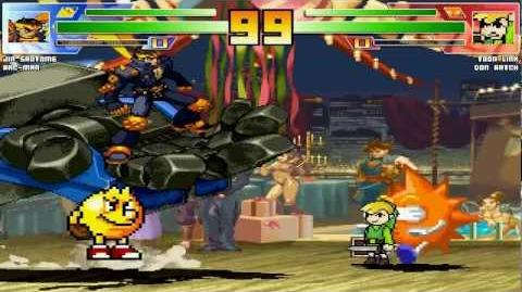 Mugen Fight Channel 136 Jin & Pac-Man vs Toon Link & Don Patch