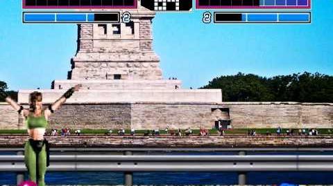 MUGEN Special Forces - Captain America vs Sonya