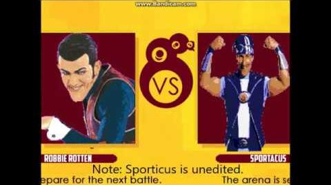 We are Number One but it's Robbie Rotten's MUGEN release! (PR Mugen VS Sportacus)