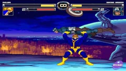 MUGEN Cyclops Vs