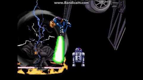 Mugen Battles 1 Luke Skywalker VS Darth Maul