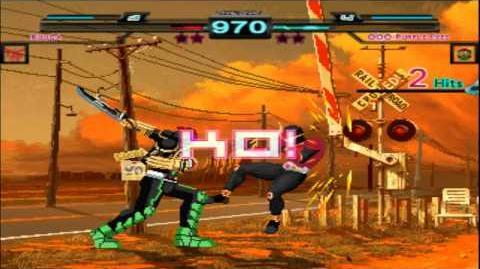 Mugen Rider battle Kamen rider Kuuga Vs Kamen rider OOO(Purple Eyes)