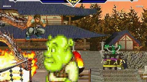 Brock From Pokemon Vs Shrek