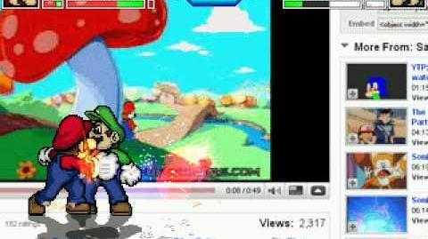 New Mugen Stage YouTube (Featuring The Intro to Hotel Mario)