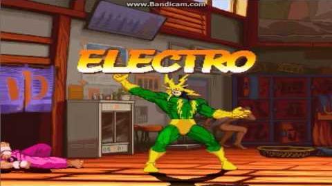 Marvel vs Capcom (capcom alls stars mugen) Electro en español