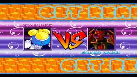 Mugen Random Battles TwinBee and Kooper Vs Alien Crab and TX-No.3