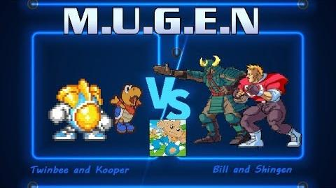 BGR Mugen Request 31 Twinbee and Kooper Vs. Bill and Shingen