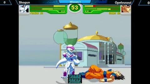 Gameplay Hyper Dragon Ball Z EVO 2014 Shogun (Freeza Z2) vs Opelousaui (Gohan Z2)