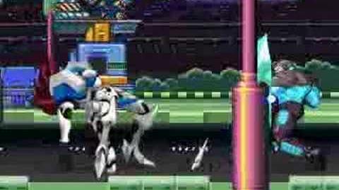 DE MUGEN 5 Justice vs War Machine