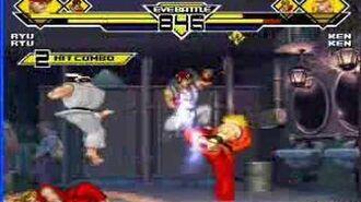 KX's Mugen 8 SF2 Ryu SF1 Ryu vs. SF2 Ken SF1 Ken