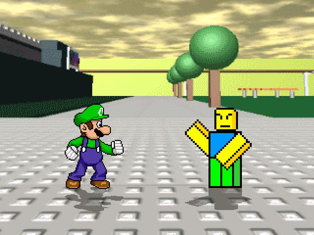 Luigi and le noob