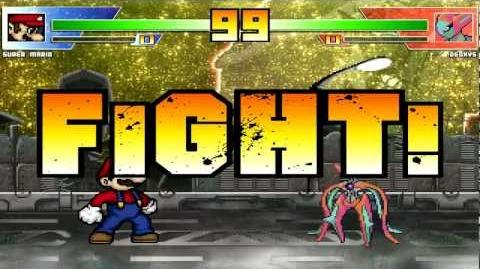 Mugen Fight Channel 129 Mario vs Deoxys